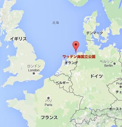 Wadden-map