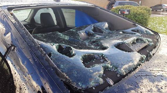 テキサスを2日間続けて襲った「爆撃のようなスイカサイズの雹」 地球の記録 アース・カタストロフ・レビュー