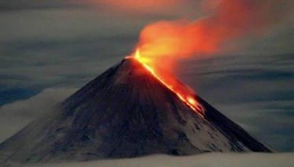 Klyuchevskaya-eruption