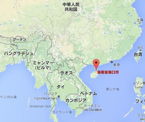china-hongcheng-map