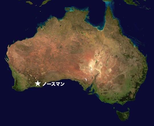Australia_norseman-map