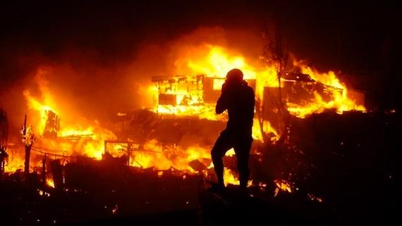 南米チリで史上最悪の森林火災に...