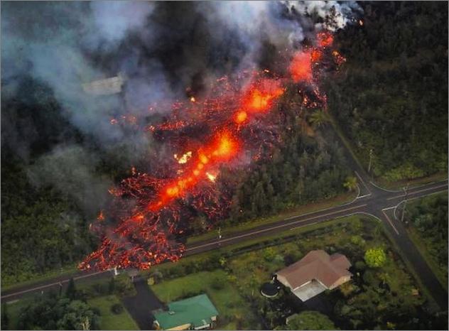 ハワイのキラウエア火山の噴火は...